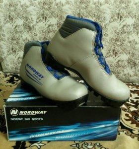Лыжные ботинки 36 размер