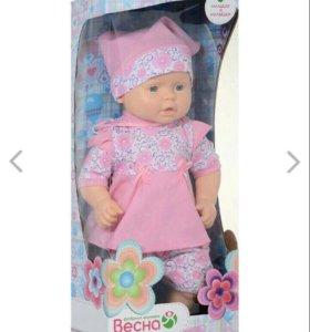 Новая кукла в коробке