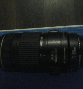 Объектив Canon EF 70-300mm 1:4 -5.6 macro 1.5m/4.9