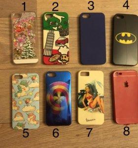 Чехолы на iPhone 5,5s,se