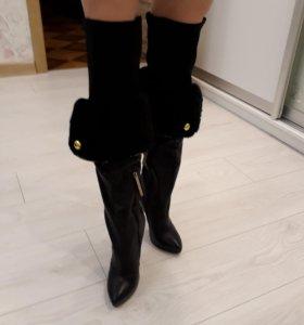 Сапоги женские демисезооные утеплённые Paolo Conte