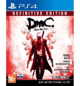 Игра для ps4 Devil May Cry Definitive Edition