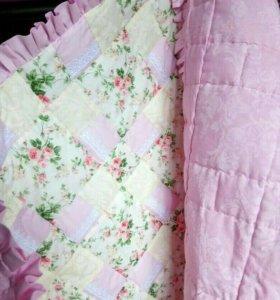 Лоскутное одеяло.Пэчворк.Одеяло/покрывало на заказ