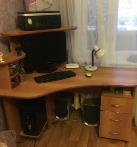 Компьютер +стол в подарок