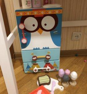 Холодильник Детский игровой Кухня Детская