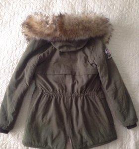 Куртка теплая стильная