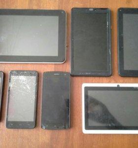 Планшеты телефоны