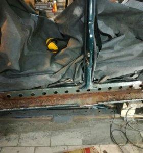 Кузовной ремонт,порогов.