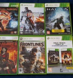 Продам или поменяю игры на Xbox 360