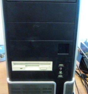 Компьютер  4Гб, 500gb, GF9800gt, Kaspersky лиц.