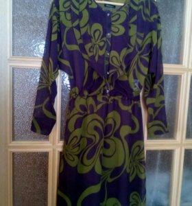 Платье 46р шифон