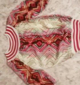 Блуза новая 44-46 продажа обмен. См профиль