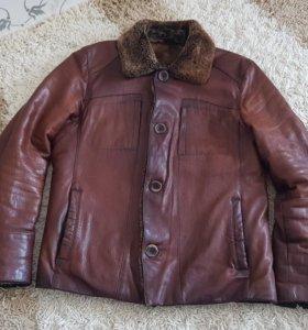 Мужская куртка (натуральная кожа)