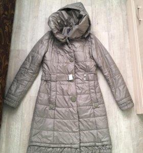 Удлиненная куртка (пуховик)
