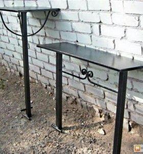 Ограды, столы, лавки