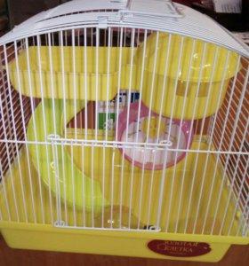 Клетка для грызунов, 27*20,5*25,5 см