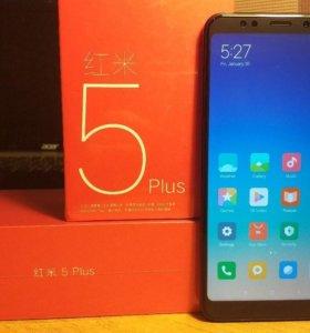 Xiaomi Redmi 5 Plus Black - Новый