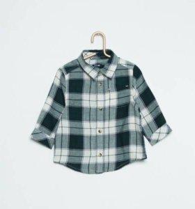 Рубашка для мальчика новая Kiabi