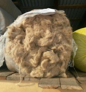 Пакля джутовая в тюках по 10 кг