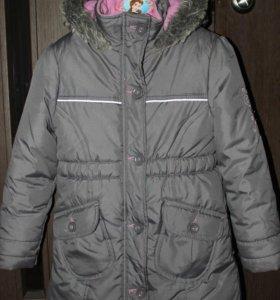 Пальто демисезонное 128р-р