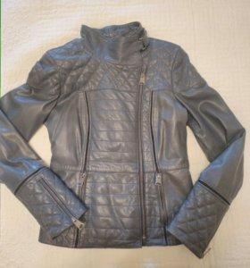 Куртка кожаная женская 44-46 размера