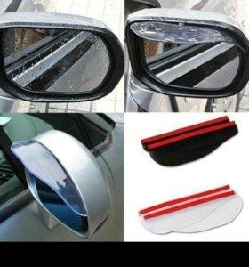 Козырьки для зеркал на авто