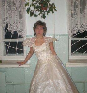 Платье просто королевское красивое   фото не показ
