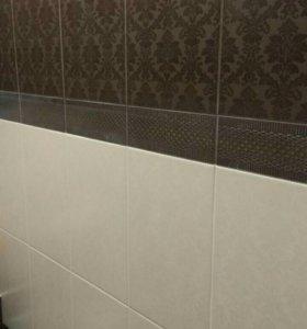 Укладка кафельной плитки и выравнивание стен