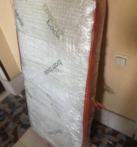 Мотрас для кроватки новый размер 120на60