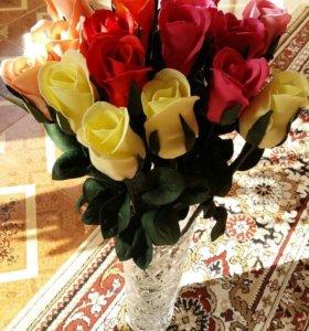 Цветы, корзины, дерево из роз, букеты...