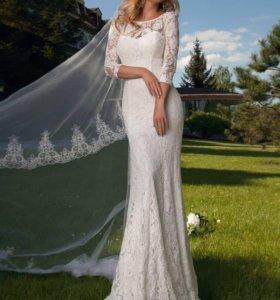 """Дизайнерское платье свадебное «Gladys"""""""