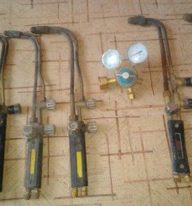 Газовые Резаки и редуктор