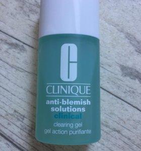 Гель от прыщей Clinique anti blemish solution