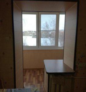 Окна с отделкой откосов (окно под ключ)