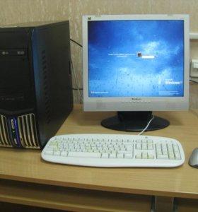 Компьютер ( блок) для офисной работы и кино
