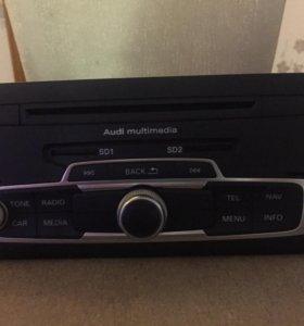 магнитола Audi A1 MMI 3G с монитором