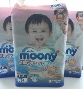 Подгузники Moony L54