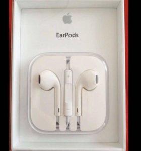 Наушники EarPods оригинал новые