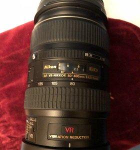 Nikon 80-400mm f/4.5-5.6D ED VR AF