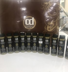 Масляная краска для волос Constant Delight +оксиды