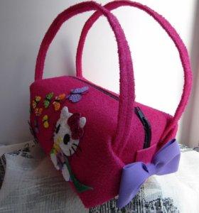 Детские сумочки из фоамирана