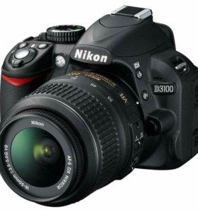 Фотоаппарат nikon d3100 + kit 18-105