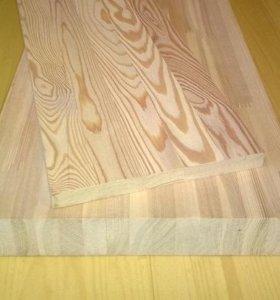 Мебельный щит лиственница срощен. 40*800мм*2м