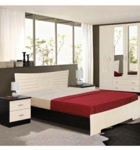 Новая двуспальная кровать с подъемным механизмом