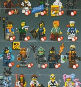 Фигурки Lego ninjago movie