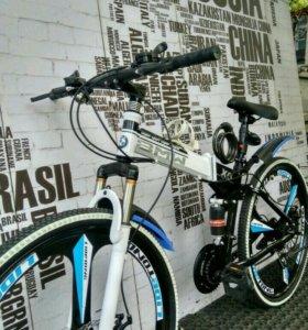 В наличии  велосипед