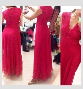 Платье длинное 40-42р