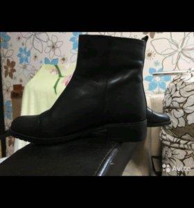 Ботинки новые39,натуральные