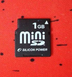 Silicon Power MiniSD 1GB