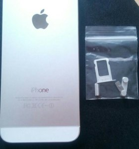 КОРПУС iPhone 5s.(серебро). НОВЫЙ